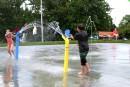 Des jeux d'eau à temps pour les vacances de la construction