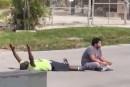 Miami: la police tire sur un Afro-Américain non armé, allongé, les bras levés