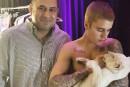 Justin Bieber réprimandé pour avoir joué avec des lions