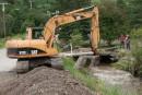 Inondations à Saint-Fulgence: une journée intensive de travaux