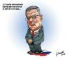 Caricatures de Jean Isabelle (juillet)