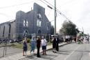 La foudre a frappé trois fois tout près de l'église de Saint-Isidore