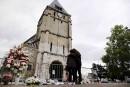 FRANCE-ATTACK-CHURCH-TRIBUTE