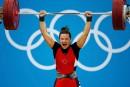 L'or quatre ans plus tard pour l'haltérophile Christine Girard