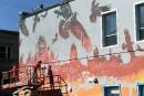 Québec en ruines sur une murale signée Martin Bureau