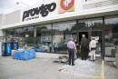Feu au Provigo sur Galt: trop tôt pour parler de réouverture, dit Loblaws
