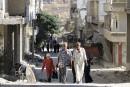 Les premières familles syriennes empruntent le «corridor humanitaire»