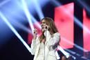 Céline Dion: «C'est le public qui m'a émue»
