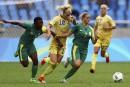 Soccer féminin:la Suède défait l'Afrique du Sud