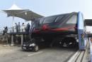 Chine: le «bus du futur», trop beau pour être vrai?