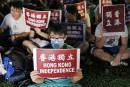 Des milliers de Hongkongais manifestent pour l'indépendance