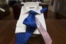 Un designer crée des cravates incitant à «lâcher Trump»<strong></strong>