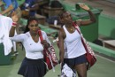 Double: les soeurs Williams éliminées dès le premier tour