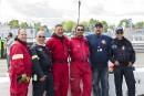 Voici les gens du service d'incendie dans les puits, qui... | 7 août 2016