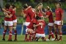 Le bronze en rugby: les Canadiennes guerrières jusqu'au bout