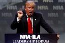 Seuls les pro-armes peuvent stopper Clinton, dit Trump