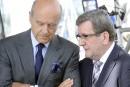 Labeaume saute en politique française en militant pour Juppé