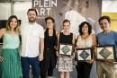 Plein art récompense quatre artisans