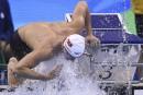 100 m nage libre: Condorelli à un doigt d'une médaille