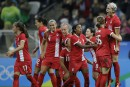 Soccer: les Canadiennes passent en demi-finale