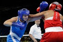Ariane Fortin perd son premier combat