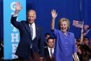 Joe Biden fait campagne avec Hillary Clinton