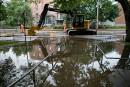 Dix fuites et bris d'aqueducs simultanés à Montréal