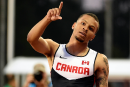 De Grasse le plus rapide des qualifications du 200 m