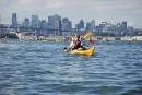 Défi Montréal-Québec: kayak de maire