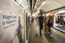 Le service de nuit du métro londonien entre en fonction