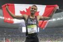 Andre De Grasse nommé «l'Étoile montante» de l'IAAF en 2016