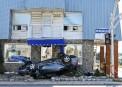 Accident spectaculaire sur Thibeau