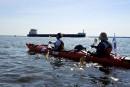 Défi kayak Montréal-Québec: épuisant Saint-Laurent