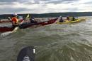 Défi kayak Montréal-Québec: contre la montre... et la météo