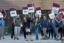 Une grève perturbe la rentrée dans les cégeps