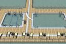 Une piscine flottante dans le lac Memphrémagog?