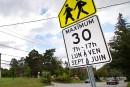limitation de vitesse dans les zones scolaires (rue ontario)