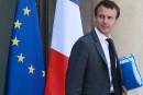 France: le ministre de l'Économie Emmanuel Macron démissionne