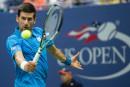 Novak Djokovic au troisième tour sans jouer