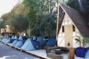 À Paris, camper chez les «Grands Voisins»