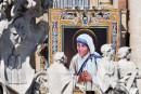 Mère Teresa déclarée sainte par le pape François