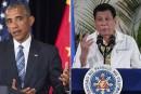 Le président philippin insulteObama, leur rencontre annulée