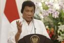 Après Obama, leprésident philippin insultele patron de l'ONU