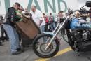 Un morceau de poutre du WTC transporté à Terre-Neuve