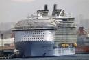 Marseille: accident mortel sur le plus grand paquebot du monde