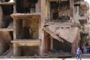 Les habitants assiégés attendent l'aide promise en Syrie