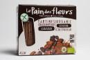 L'aliment sous la loupe: tartines craquantes bios au cacao