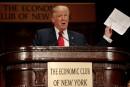 Trump promet un avenir économique radieux