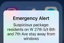 Une alerte attentat mise en oeuvre pour la première fois