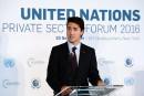 Le Canada n'a pas fini d'aider les réfugiés syriens, dit Trudeau